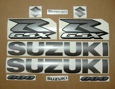 GSXR 600 graphite grey decals stickers graphics set pearl gray adhesives srad k5