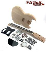 Pit Bull Guitars DGM-12 Electric Guitar Kit (Mahogany 12 String)
