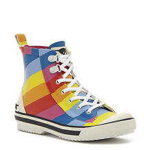 Rocket Dog Women's RAINY RAINBOW RUBBER RAIN BOOTS Pride rainbow Sold out