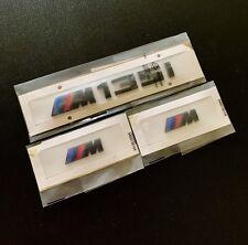 Noir Brillant BMW M135i + Fender badge X2 Custom Arrière Lettrage Série 1 3 M UK