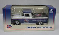 Liberty Car Quest 1960 GMC Pickup Die Cast Metal Truck Lockable Coin Bank 5th