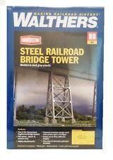 HO Scale Walthers Cornerstone 933-4554 Steel Railroad Bridge Tower Model Kit