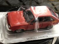 DIECAST 1/43 VAUXHALL CHEVETTE 1975-1984 IN RED BLISTER PACKED Great Model