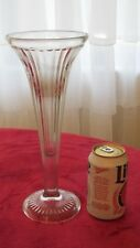 very tall antique ice ream parlor sundae glass