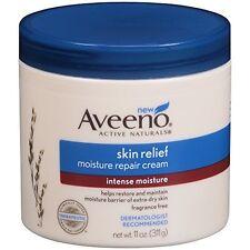 Aveeno Skin Relief Moisture Repair Cream, 11 Oz Each