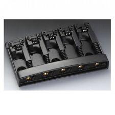 Schaller Bass Guitar Bridge 5-string 3d-5 Black Chrome 1498 - 12140400