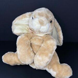 Animal Alley Tan Bunny Rabbit Plush Long Lop Ear Lifelike Realistic Toys R Us