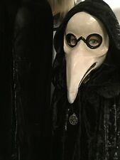 Macabre Plague Doctor Mask Pagan Masquerade Carnival Halloween Antique style