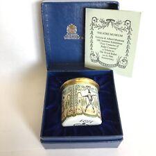 Halcyon Days Enamel Trinket Box The Royal Ballet Golden Jubilee 1981 Boxed COA