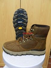 CAT Caterpillar Boots Stiefel Leder Gr. 45 Herren  STICTION HI ICE + WP braun