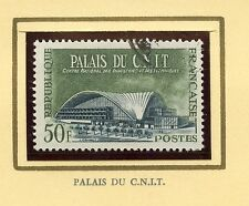 STAMP / TIMBRE FRANCE OBLITERE N° 1206  PALAIS DU C.N.I.T.