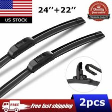 "24""+22"" Windshield Wiper Blades for Dodge Avenger Ford Flex Nissan Armada Titan"