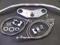ABM Superbike Lenker-Kit Honda VTR 1000 F (SC36) | 97-ff | silber