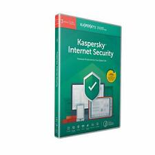 Kaspersky Internet Security 2019 3 Devices 1 Year PC Mac Android Email Key EU