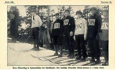 Skimeeting in Holmenkollen: Der deutsche Skimeister Böhm-Hennes 1911