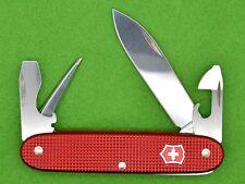💚 SWISS ARMY KNIFE - VICTORINOX PIONEER BRÜTSCH-RÜEGGER - ALOX RED