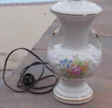 Antique Ceramic Table Lamp 19""