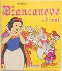 ALBUM FIGURINE BIANCANEVE E I 7 NANI CON 33/225 PANINI 1987 DISNEY