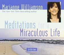 Meditations for a Miraculous Life [Audio CD] [Mar 01, 2007] Williamson, Marianne