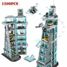 Upgraded 7 FLOORS AVENGERS TOWER 1209pcs Set legoings 76038 Heroes Infinity Wars