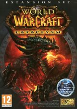 World of Warcraft Cataclysm in Brand New Sealed DVD Box - PC Mac MMORPG