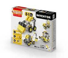Engino Bausatz 8 Baufahrzeuge Inventor Kinder Technikbaukasten *NEU* Ab 6 Jahren