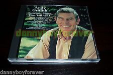 Andy Griffith CD Somebody Bigger Than You And I Take My Hand Precious Lord etc.