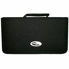 120 Sleeve CD DVD Blu Ray Disc Carry Case Holder Bag Wallet Storage Nylon - Neo