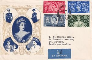 3 JUNE 1953 CORONATION ON ILLUSTRATED COVER WINDSOR CDS