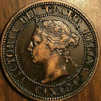 1882H CANADA LARGE CENT PENNY LARGE 1 CENT COIN