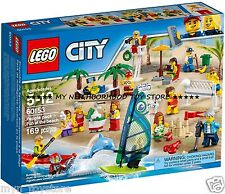PRON. CONS. - LEGO 60153 CITY DIVERTIMENTO IN SPIAGGIA FUN AT THE BEACH - NOVITÀ
