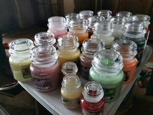Yankee Candle Jars - Variations of Large Jars, & Medium Jars, available