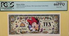 2005T $10 Minnie Disney Dollar Graded By PCGS Gem New 66PPQ, T00525205