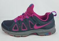 Nike Alvord 10 Women's Gray & Pink Trail Size 8.5 Athletic Shoes.  512038-005
