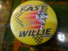 willie parker pin steelers fast willie rare