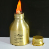 Portable Metal Alcohol Lamp Heating Liquid Stoves Outdoor Survival Camping LE
