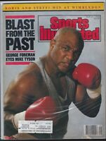Sports Illustrated,GEORGE FOREMAN On Cover 7/17/89