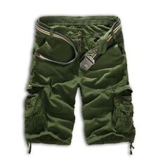 Casual Men Military Combat Camo Cargo Shorts Pants Work Army Trouser Quality NEW