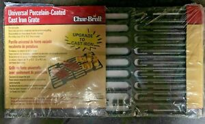 Char-Broil Universal Cast Iron Grate New 14 to 19.5 X 7.75 Adjustable