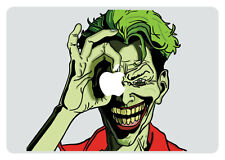 Joker Looking Through Apple MacBook Pro / Air 15 Inch Vinyl Decal Sticker
