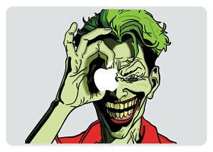 Joker Looking Through Apple MacBook Pro / Air 15 Inch Vinyl Decal Sticker