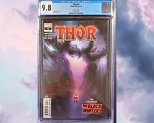 🚨🔥 Thor #4 (2020 Marvel Comics) 2nd Print CGC 9.8 Black Winter 1st appearance