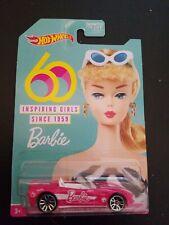 2019 Hot Wheels 60th Anniversary Barbie Corvette Stingray Pink