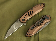 EDC Sharp Assisted Opening Pocket Knife Rescue Survival Camping Hunting Saber