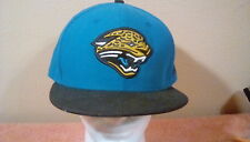 Fitted Baseball Cap NFL JACKSONVILLE JAQUARS  size 7 5/8 by NewEra