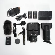 Sony NEX FS-100U NEXCAM AVCHD Super 35mm Sensor E-Mount Pro Camcorder Body w Mic