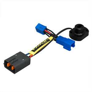 TRIUMPH 2013-18 DAYTONA 675/675R WOODCRAFT RACING KEY SWITCH ELIMINATION HARNESS
