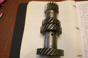 Early BorgWarner T-10 4 speed cluster gear Close Ratio 17-19-23-28 Free Shipping