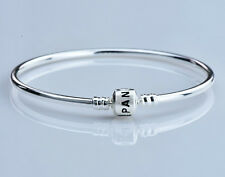 Fashion Silver Bangle Bracelet Chain Fit European Bead Inside Diameter 6CM