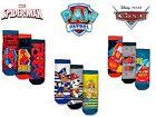 Kids Boys Pack of 3 Ankle Socks Multi-Characters Licensed Socks